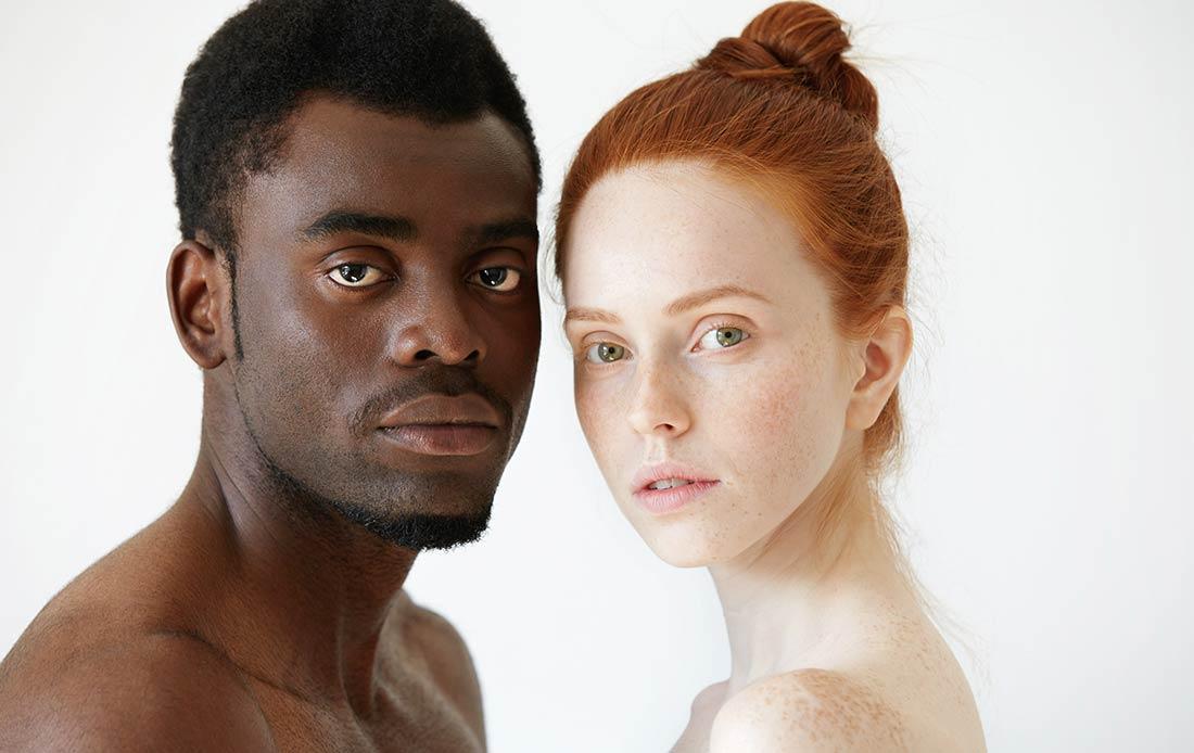 белые девчонки и здоровые черные парни - 14
